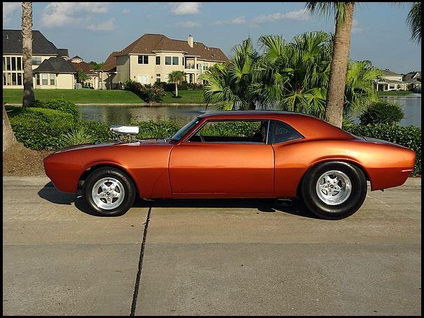 1968 Chevrolet Camaro 468 700 Hp 4 Speed Custom Chopped Pro
