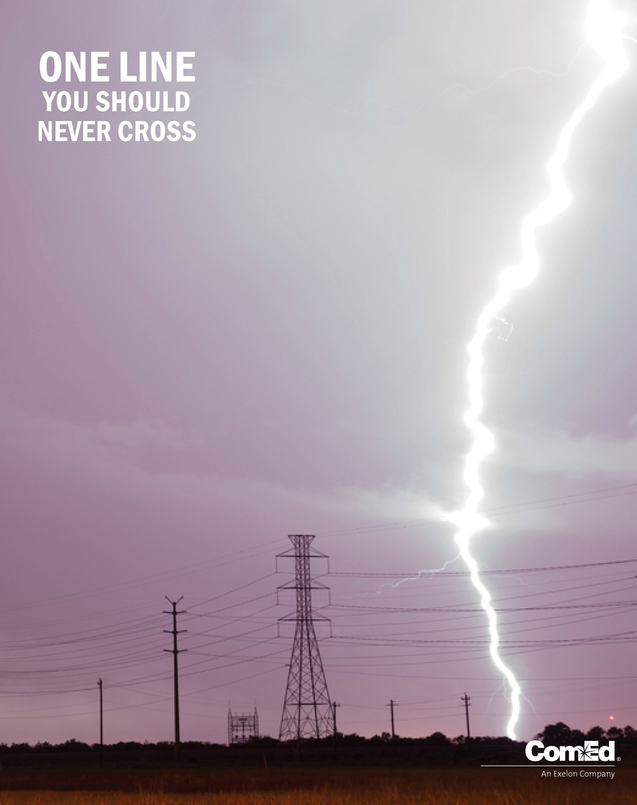 Lightning can strike electrical equipment and cause damage ...