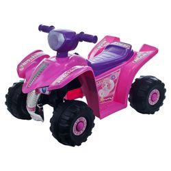 Lil' Rider Pink Princess Mini Ride-on Quad