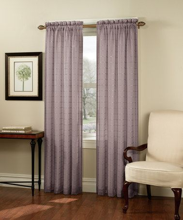 Loving This Wisteria Renee Lined Sheer Curtain Panel On Zulily Zulilyfinds