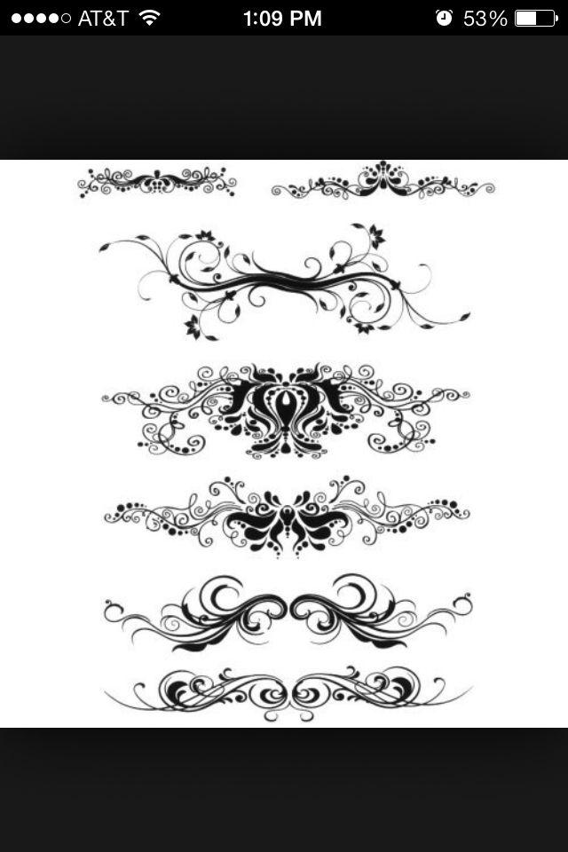 Henna Tattoo Kits Ireland: Filigree And Scrollwork Tattoos