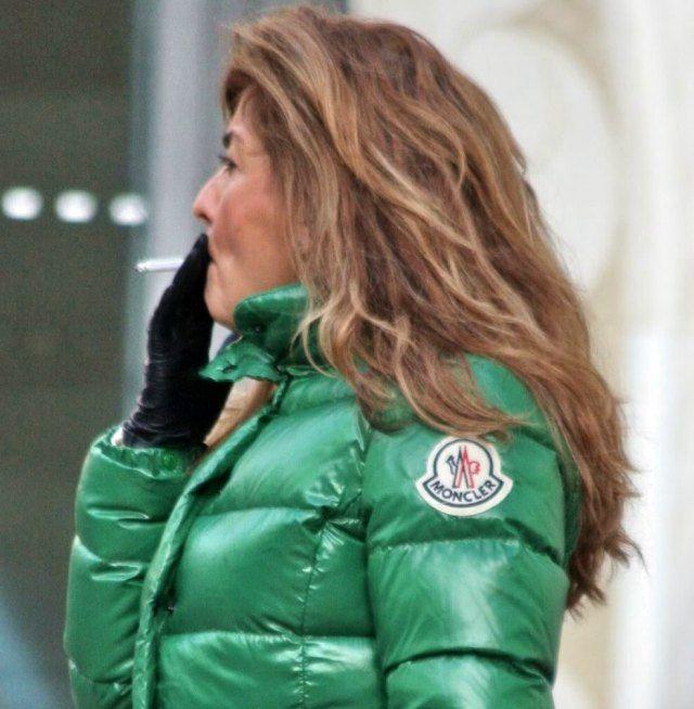 Green Moncler Claire | Moncler jacket women, Puffer jacket