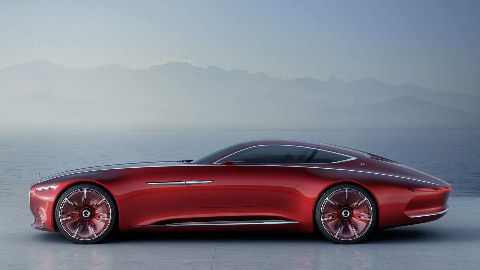 New Vision Mercedes Maybach 6 Surfaces Online And Looks Stunning