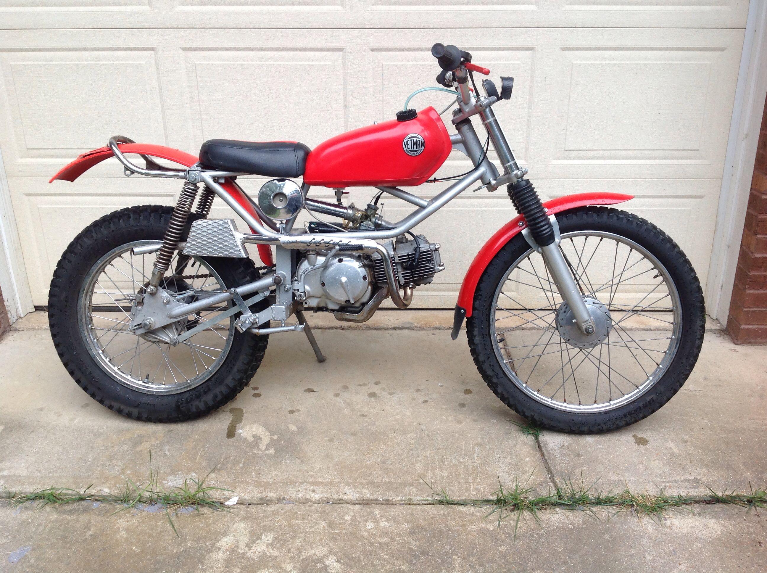Yetman /Honda Trials Scott Bikes, Trial Bike, Honda Cub, Trials, Offroad