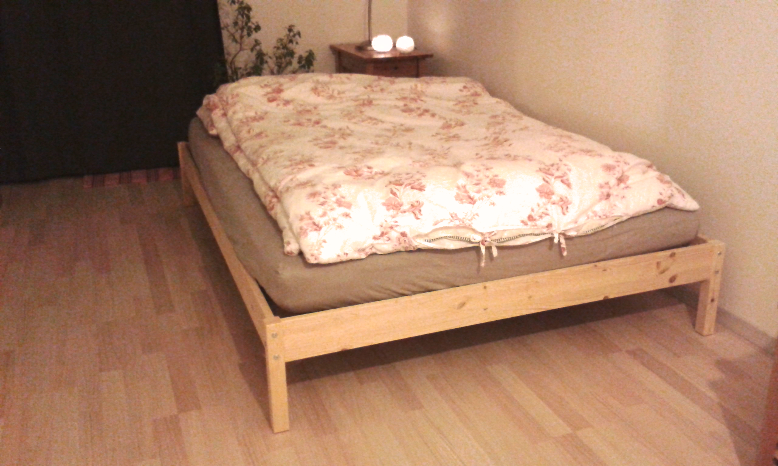 Hey Guys Today I M Here With The Ikea Tarva Bed Headboard Hack From My Boho Bedroom A Solid Wood Bed Frame G Headboard Hack Ikea Bed Hack Headboards For Beds