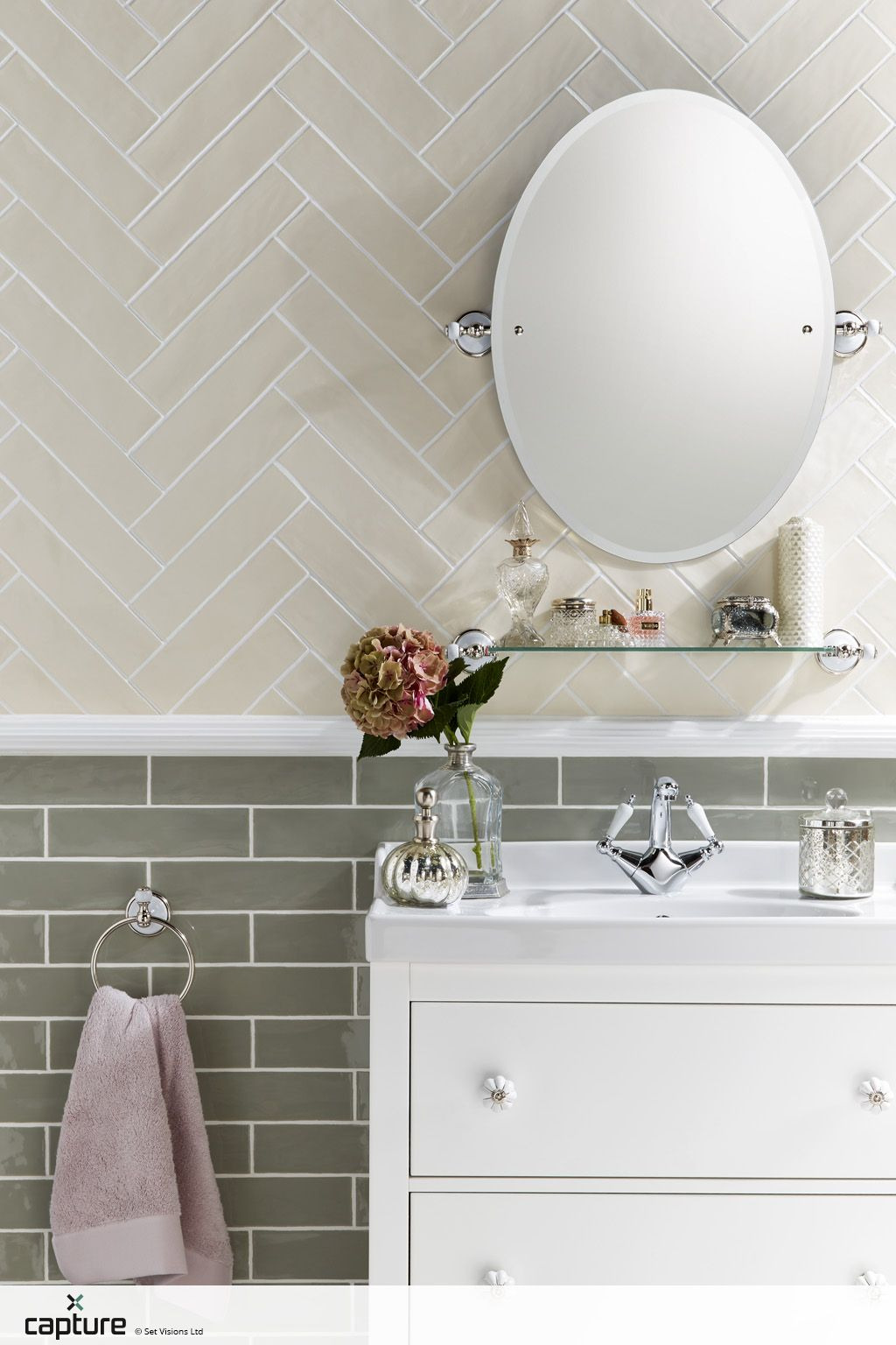 Bathroom Tiles Laying Design tile inspiration for the bathroom. soft cream tiles laid in a