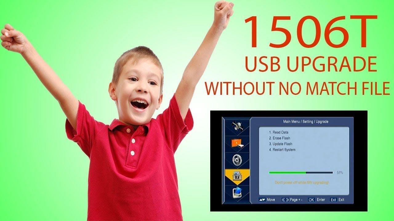 1506T USB UPGRADE SOFTWARE FOR GPRS SIM RECEIVER NEWSAT N 9000 WITH