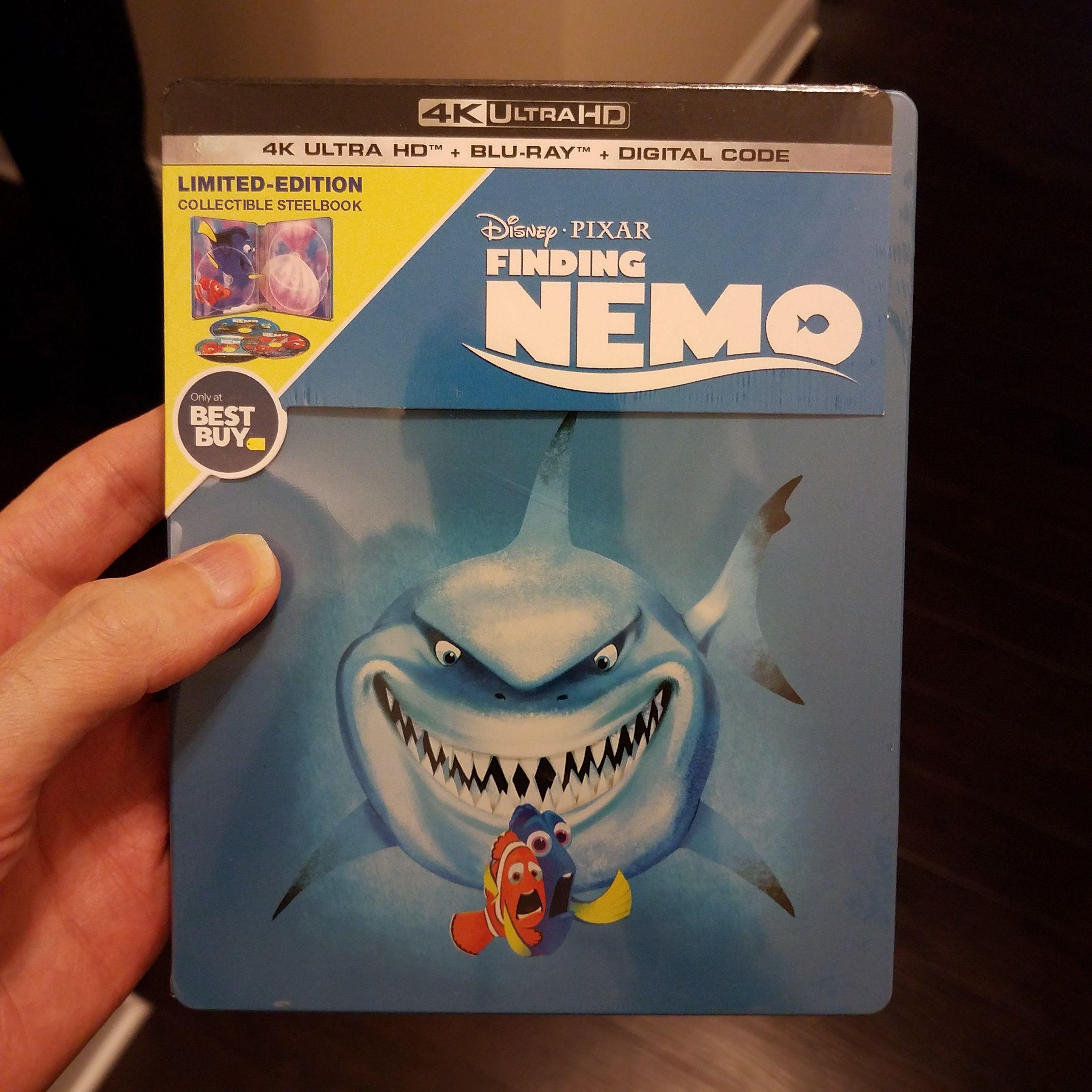 Finding Nemo Steelbook 4k Ultra Hd Blu Ray