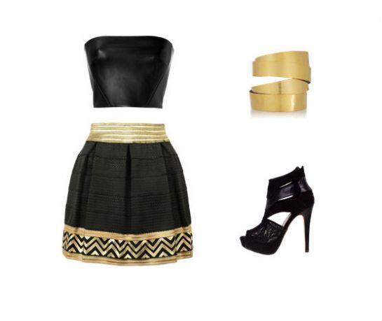 Y si quieres usarla para un festejo súper elegante ¡también se puede! Solo busca colores y tonalidades muy in y combina con accesorios dorados o plateados según tu outfit