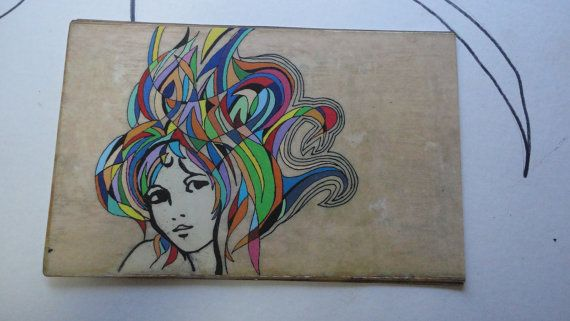 Petunia Original Art Postcard Print 3 by nicohynes on Etsy
