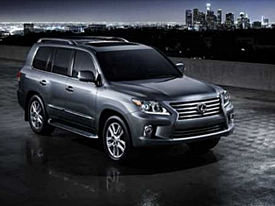 2016 Lexus LX 570 Redesign Release Date Review