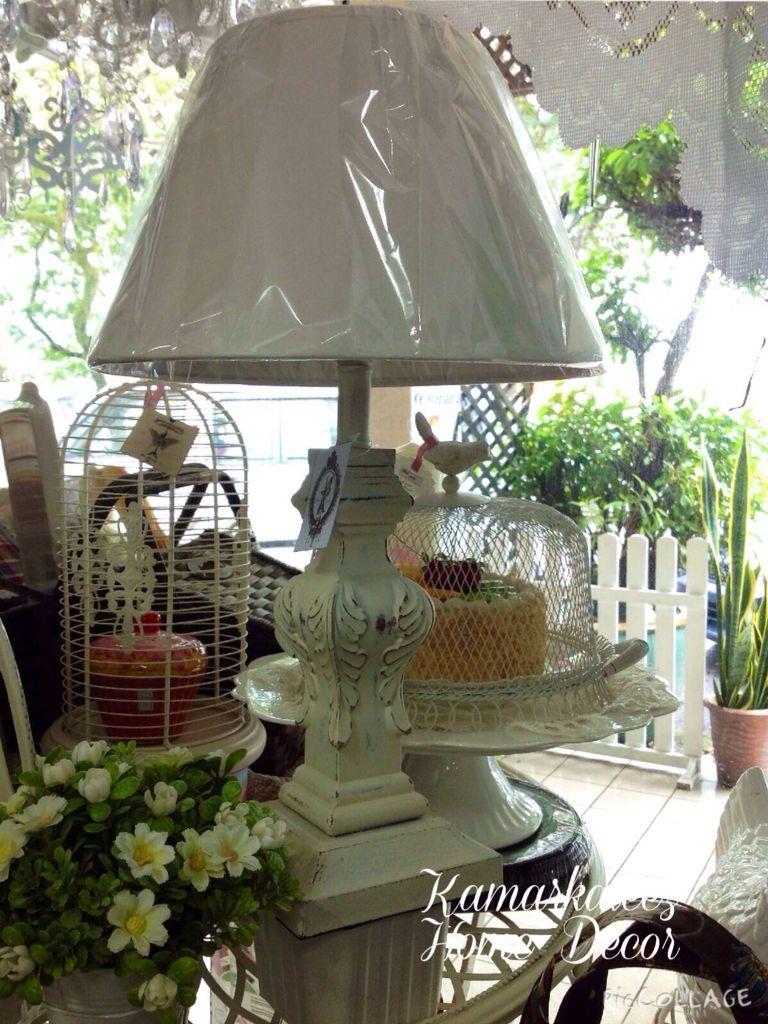 Shabby lampshade