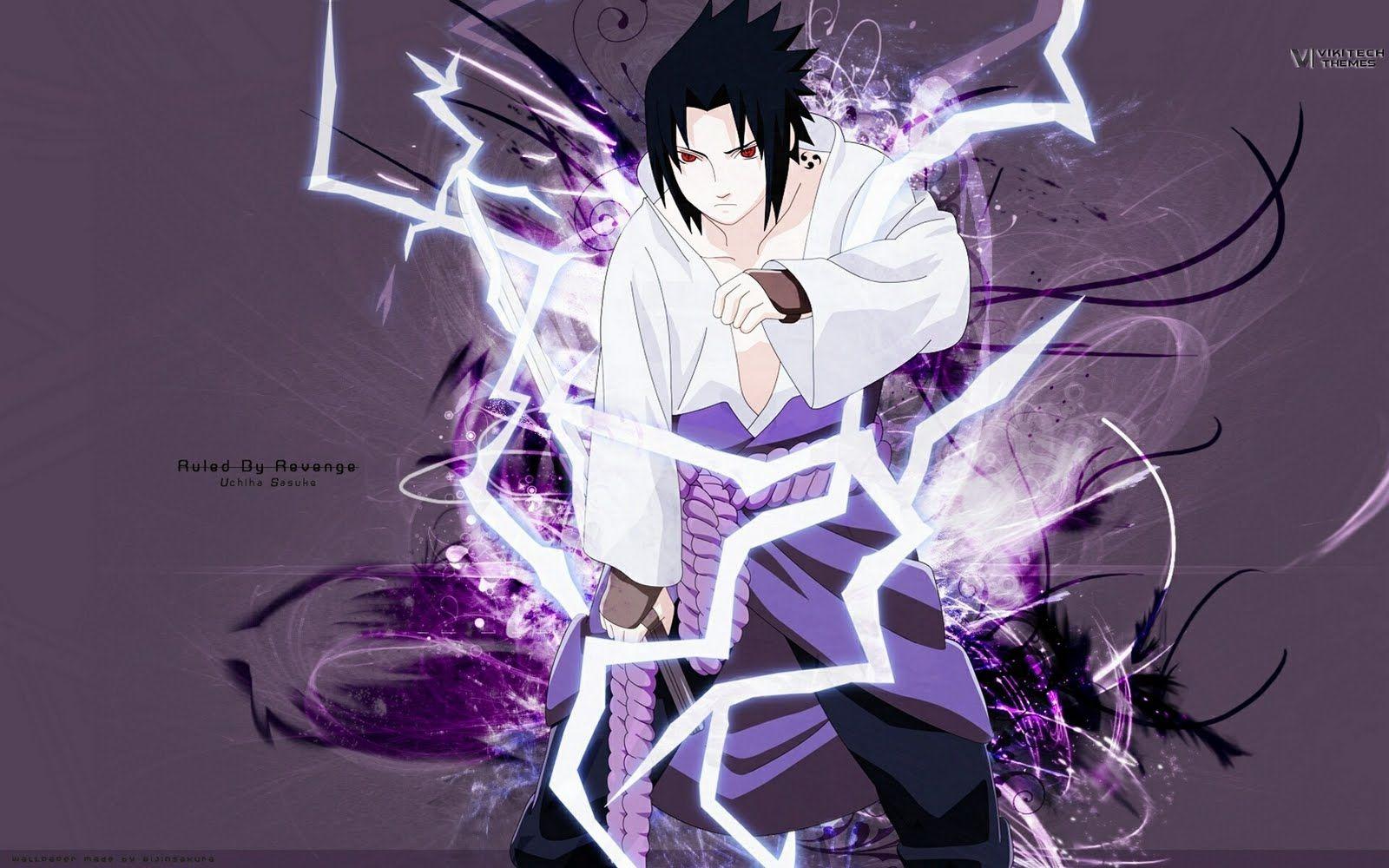 sasuke with his chidori   anime   naruto, naruto shippuden, sasuke