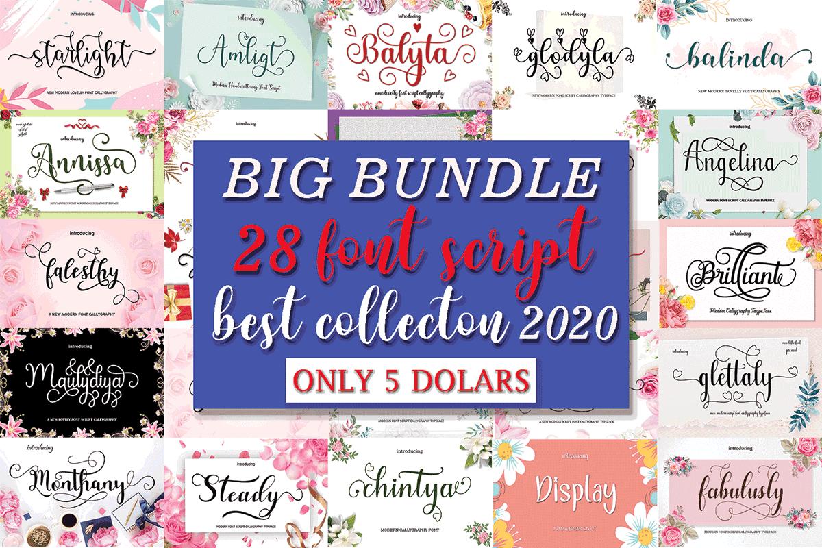 Download Big Font Bundle (Bundle) · Creative Fabrica di 2020