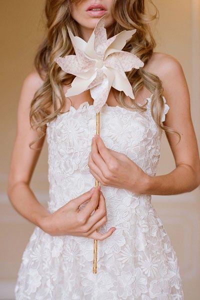 I love lace and I love pinwheels
