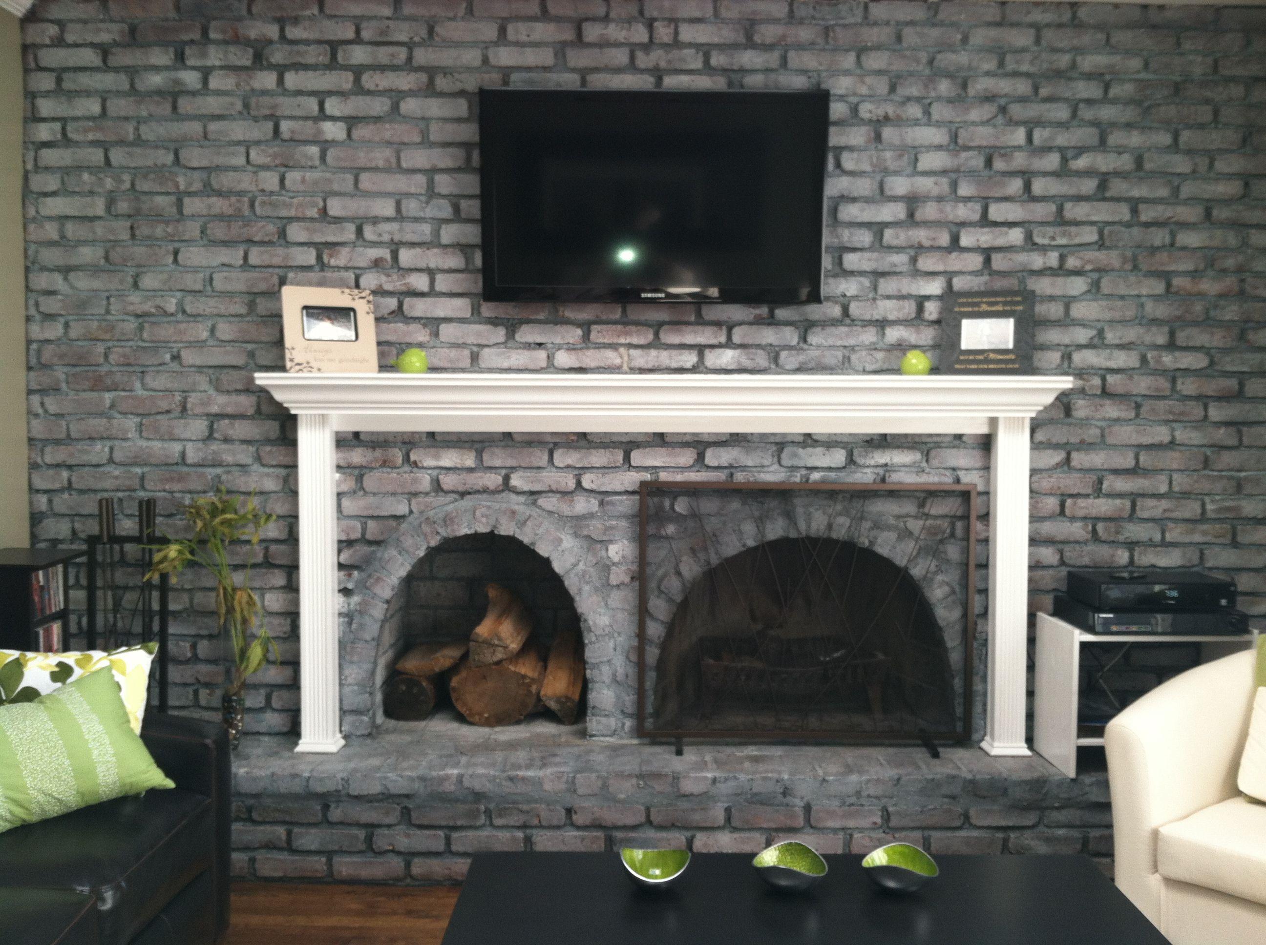 Brick Fireplace 1 Pint Benjamin Moore