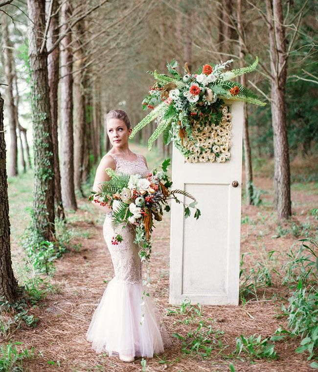 Whimsical Woodland Wedding Inspiration Woodsy Wedding Pinterest