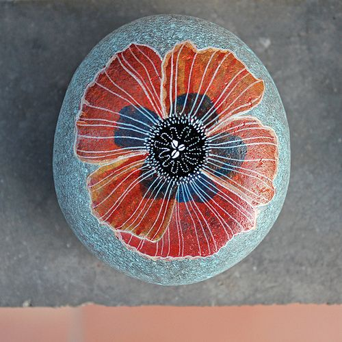 painting on rock