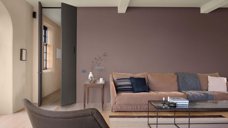 Comment peindre un salon ?  Repeindre son salon, Salon brun, Idee