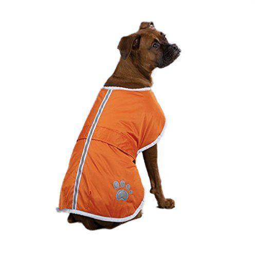 Fashion Shop Dog Blanket Coat Reversible Winter Jacket With Waterproof Shellfleece Lining And Reflective Strip And Pa Waterproof Dog Coats Dog Coats Easter Dog