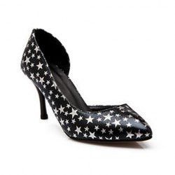 Trendy Star and Pointed Toe Design Women's Pumps