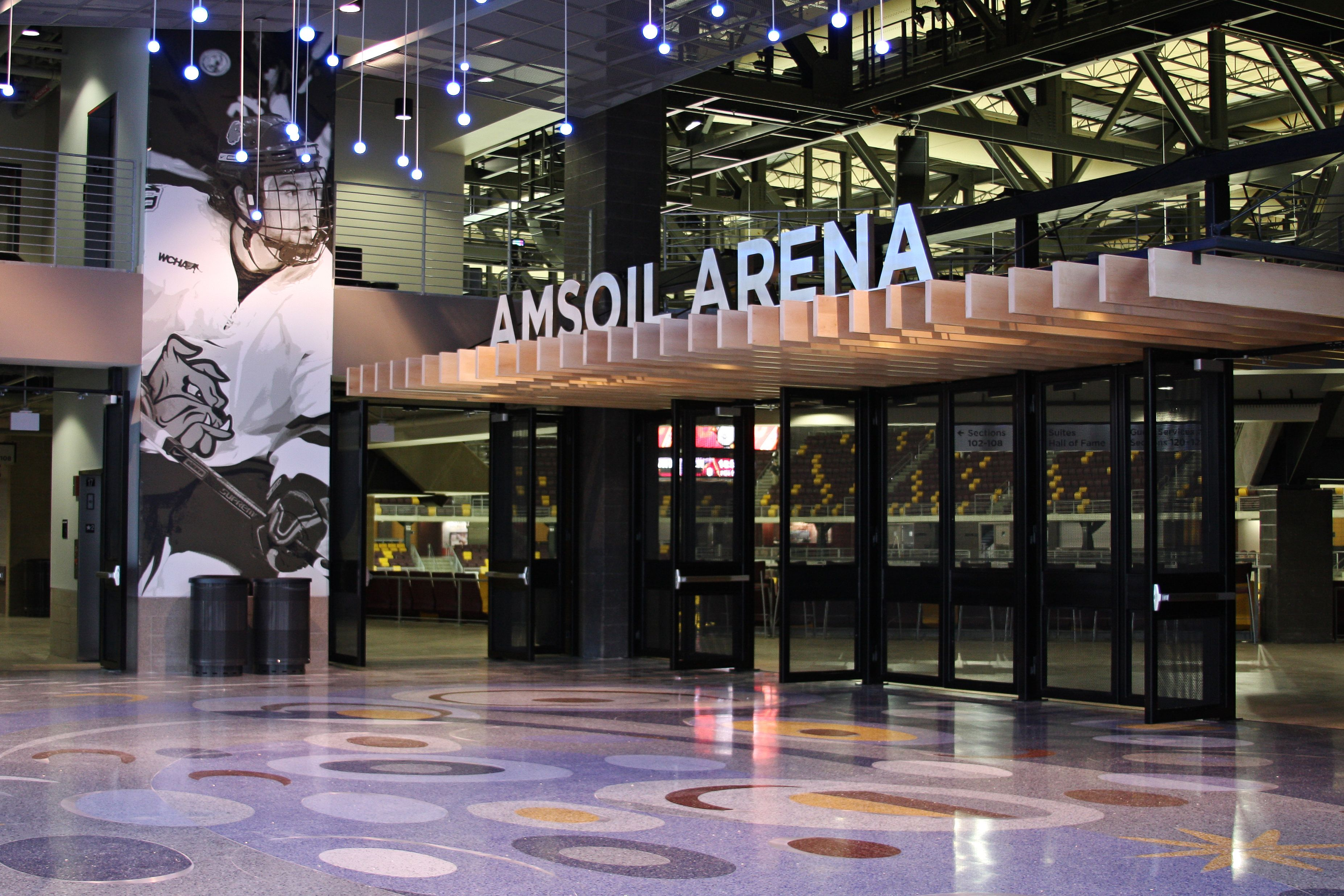 Ticket Lobby Amsoil Arena Decc Duluth Mn Photo By Mary