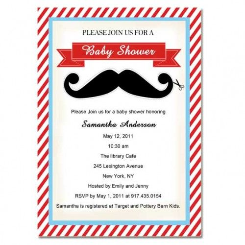 Cheap Mustache Baby Shower Invitations Online Baby Baby Shower