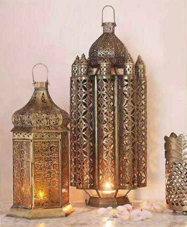 Moroccan Style Reticulated Lanterns Marokkanische Lampe Orientalische Lampen Windlicht Laterne