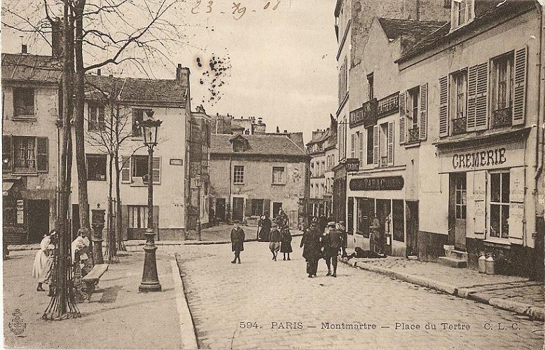 Cartes postales et photos des rues du 18ème arrondissement de Paris