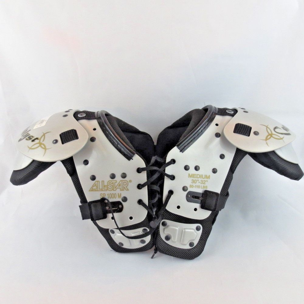 All Star Sp1000 M Catalyst Youth Shoulder Pads Medium 80 110 Lbs