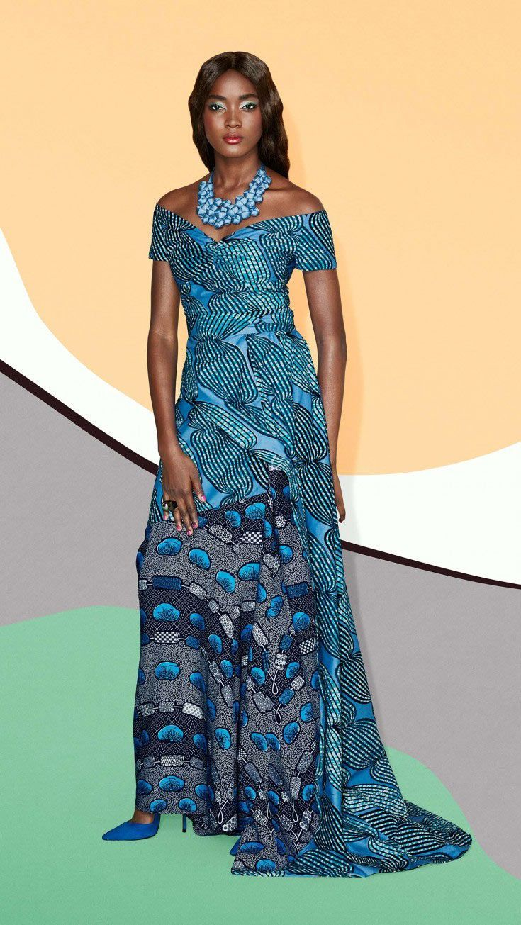 Image result for model pagne africain simple (With images) | African fabric dress, African ...
