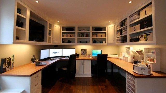 modern offices - Home Office Designs For Two