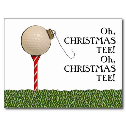 Guvon Hotels Spas Thought This Was Very Cute GOLF CHRISTMAS - Golf christmas cards
