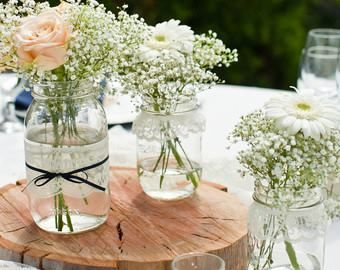 Decorating Jars With Lace Pinmạt Xuyên On Flower  Pinterest  Flower