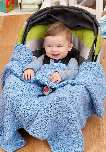 Car Seat Blanket Pattern By Pamela Greswolde Knit Pinterest