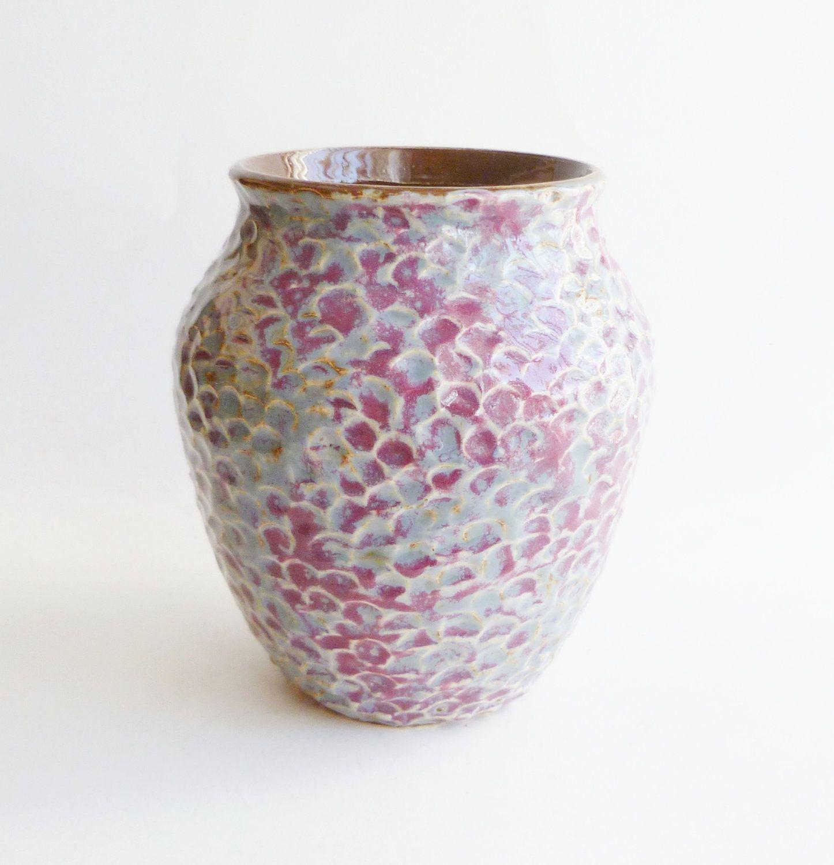 Textured ceramic vase blue and purple ceramics ideas pinterest textured ceramic vase blue and purple reviewsmspy