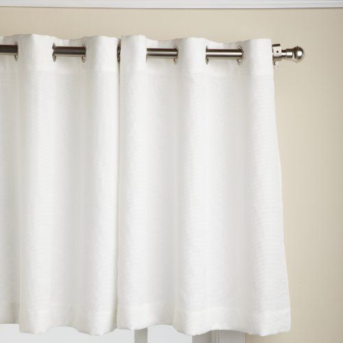 Lorraine Home Fashions Jackson 58 Inch X 24 Inch Tier Curtain Pair