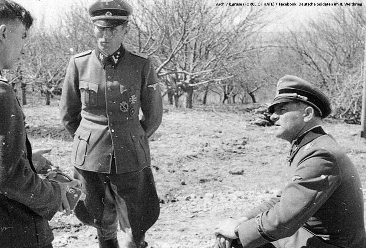 Free World 1943 Sepp Dietrich Von Der Leibstandarte Nach Der Free Helden