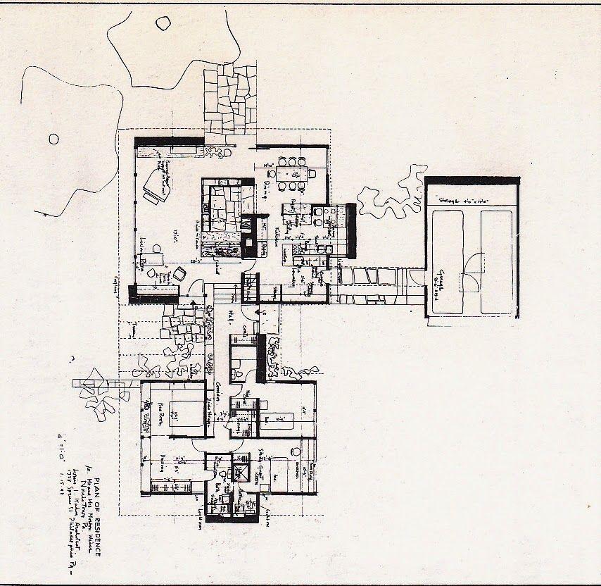 Weiss House louis khan Floor Plans Pinterest – Weiss Homes Floor Plans