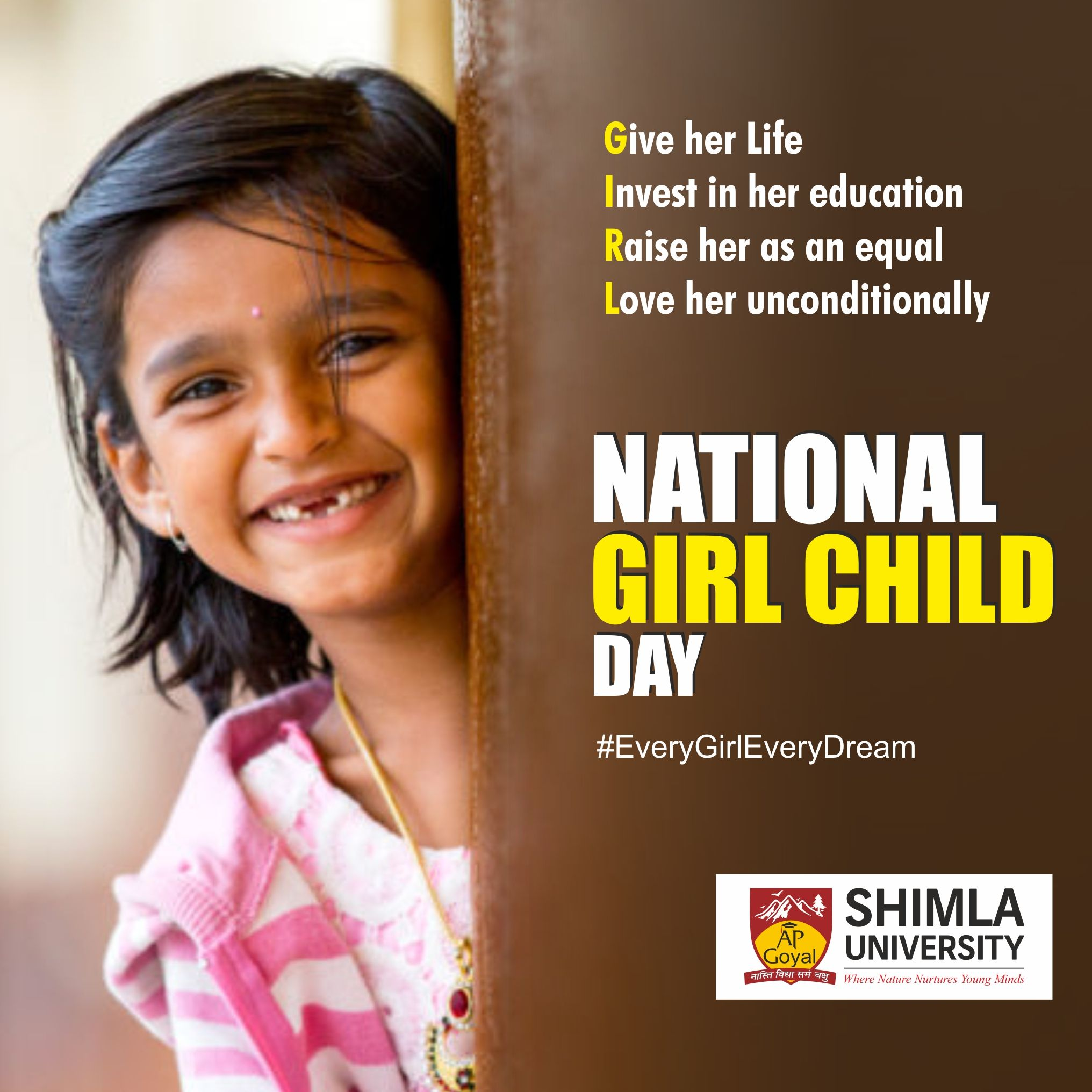 National Girl Child Day is celebrated every year on 24th of January as a national observance day for the girl child. It is …   Child day, Children, Che guevara art