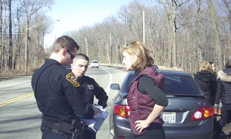 Turner verbally abuses Tenafly, New Jersey police officers