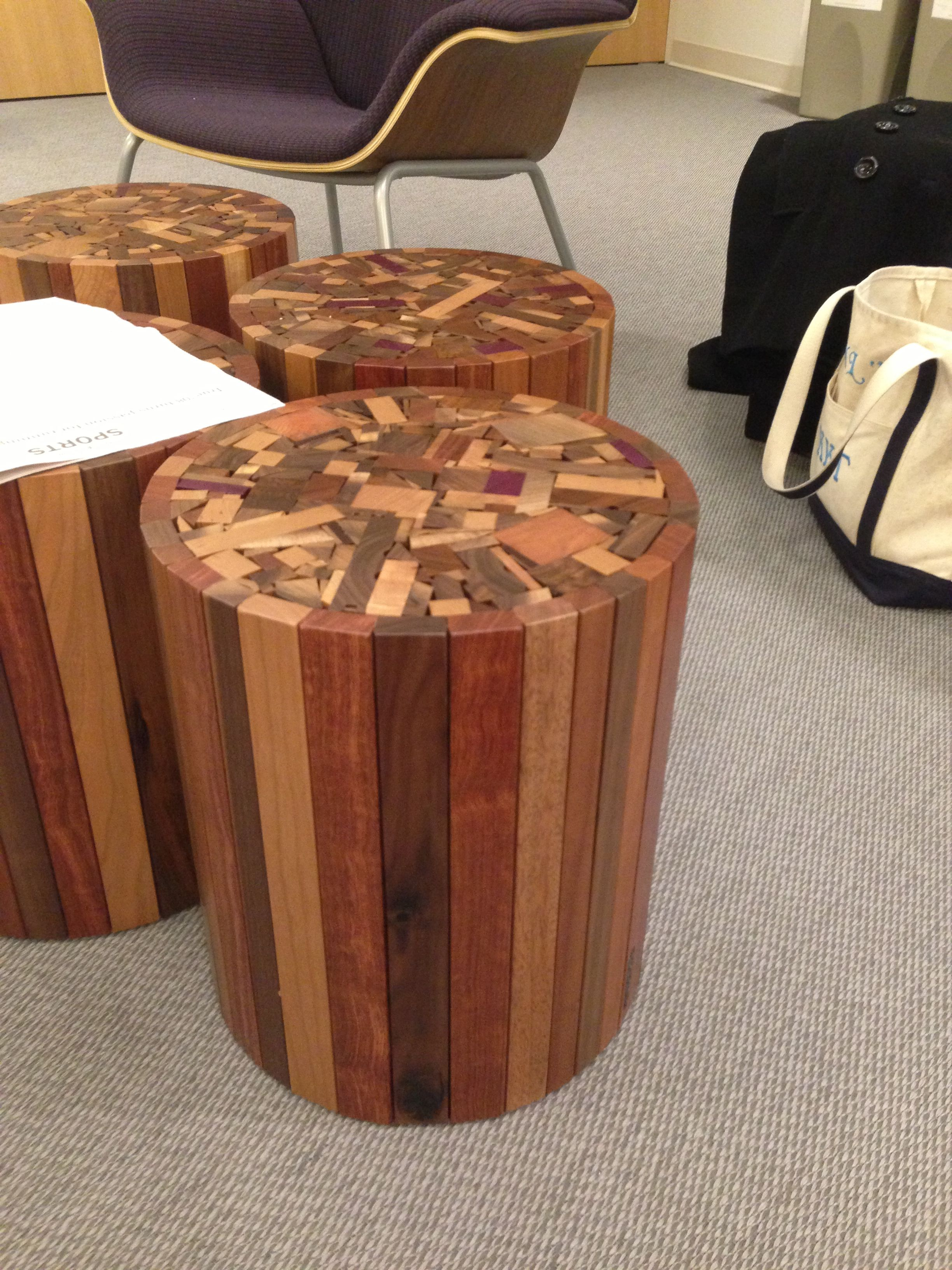Cool Side Table! Woodshop Project For The Future.