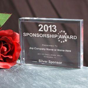 presenting event sponsor plaque golf event ideas pinterest