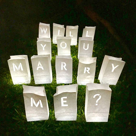 Will You Marry Me? Proposal Bags
