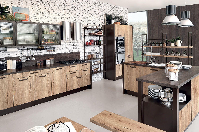 CUCINA KIKWIT abete terra nel 2019   Cucine moderne, Idee ...