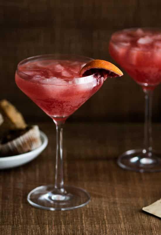 Blood Orange Sidecar Cocktail Recipe with Blood Orange Juice