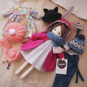 It is the brightest girl in all vremya # lerusha #handmade #doll #gift #dollaccessories