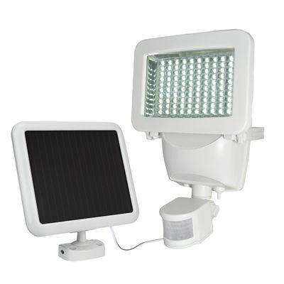 Sunforce 82101 180 degree 1 head white solar powered led motion shop sunforce 82101 white solar powered led motion activated flood light timer included at lowes canada find our selection of flood lights at the lowest aloadofball Choice Image