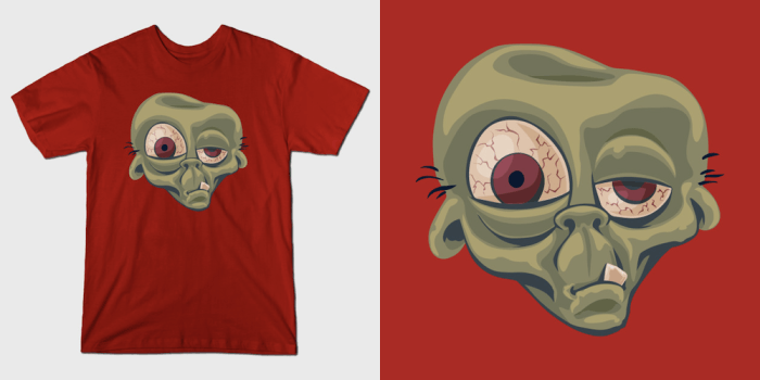ZomB - Monster T-Shirts