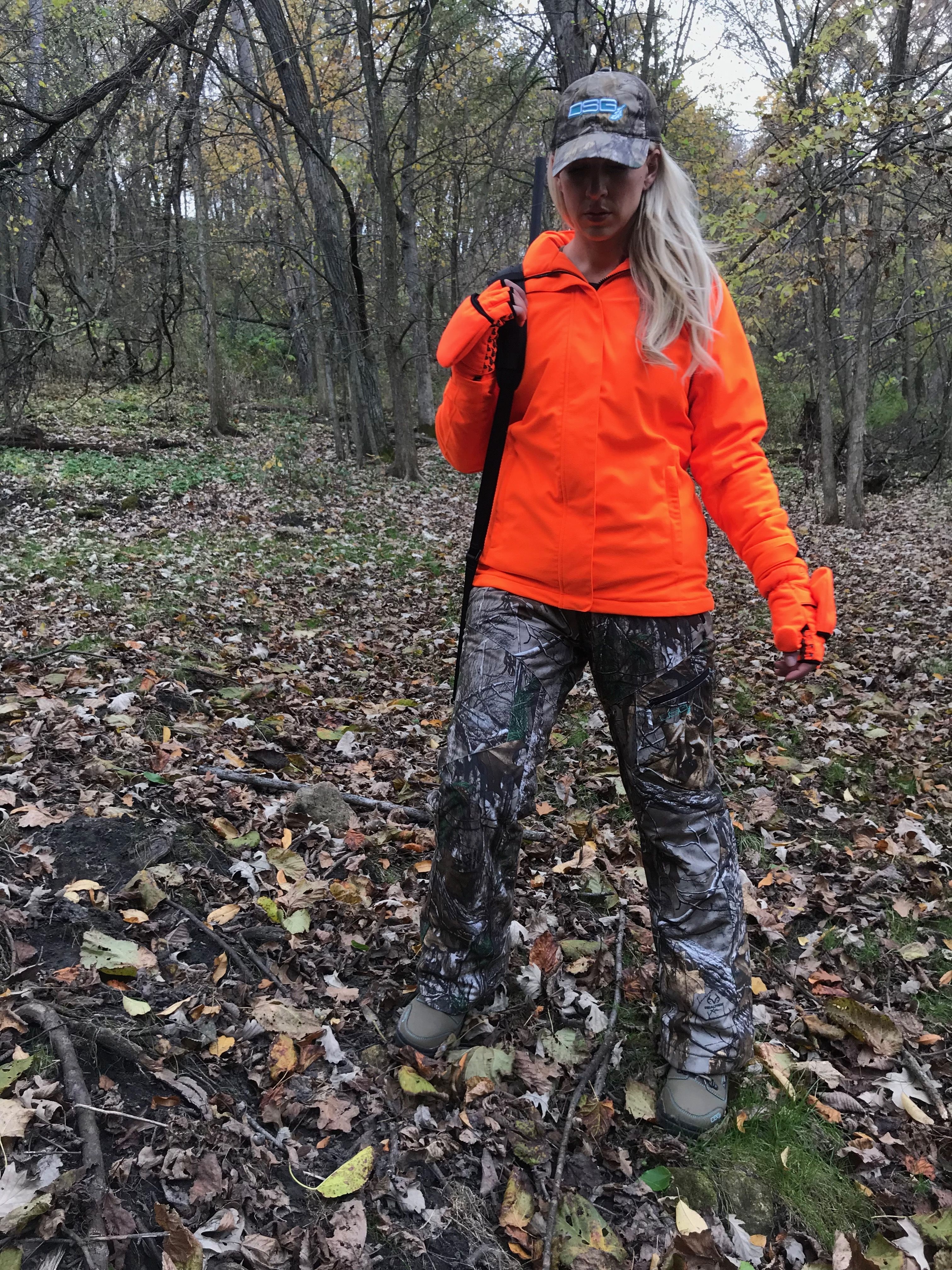 648468b394a0e Cute blaze orange hunting gear, could it be? YES! Look no further than DSG  Outerwear!